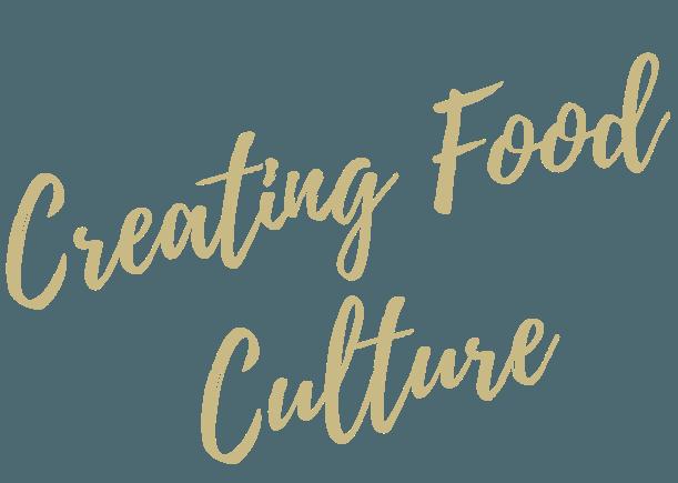 豊かな食文化を創造する